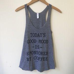 Coffee Mood Everlitte American Apparel Tank Top